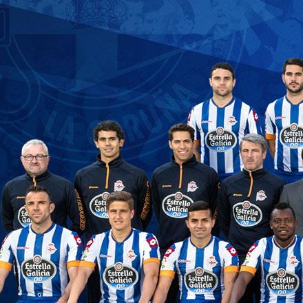 Poster R. C. Deportivo A Coruña 2013 - 2014
