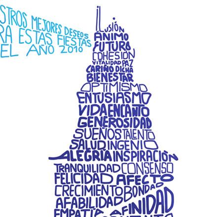 Felicitación navidad 2010 Autoridad Portuaria A Coruña